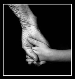 męska dłoń